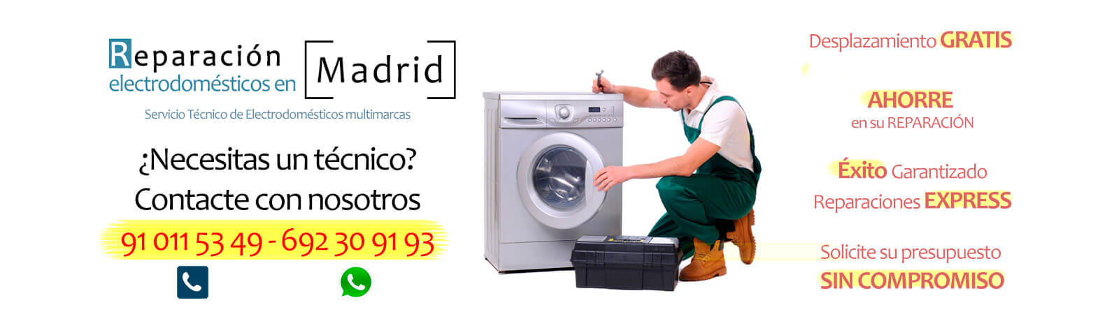 reparar lavadora en Moraleja de Enmedio