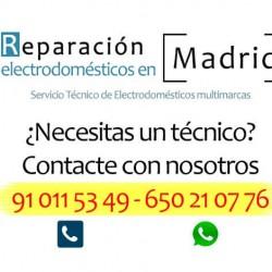 reparar lavadora en Alcobendas
